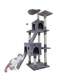 "PAWZ Road 68"" Cat Tree Activity Tower Condo Stand with Delux"