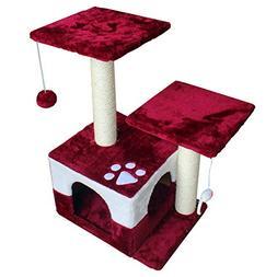 America Phoenix Multi Color Newest Cat Tree Condo Furniture