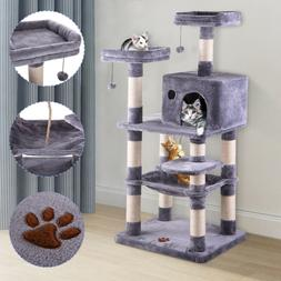 Cat Tree Condo Furniture Scratch Post Play Toy Kitty Pet Hou