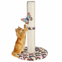 Cat Tree Scratcher Play House Furniture Kitty Scratching Pos