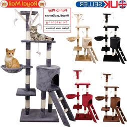 Cat Tree Scratching Post Climbing Activity Centre Sisal Bed