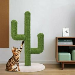 Cat Tree Tower Scratching Post Kitten Activity Center Furnit