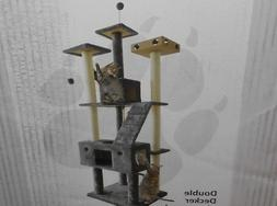 Cat Trees And Condos Towers Climbing Scratching Post Carpet
