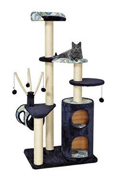Cat Tree | Playhouse Cat Furniture, 5-Tier Cat Tree w/ Sisal