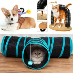 Cat Tunnel for Toy T-shaped/Y-shaped/4 Holes/4 Way/Cat Scrat