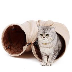 PAWZ Road Cat Tunnel Kitty Play Toys for Cats Hamster Ferret