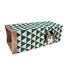 Yunt Cat Tunnel Toys Fun Interactive Pet Toys Kitty Collapsi