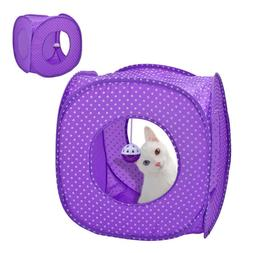 Cat Tunnels with Dangle Toys for Indoor Cats Kitten Pet Coll