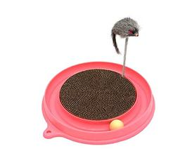 HYBINE Cat Turbo Scratcher Pads Toy, Cat Turbo Toy, Post Pad