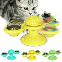 Cat Turning Windmill Toy Turntable Tickle Cat Toy Scratch Ha