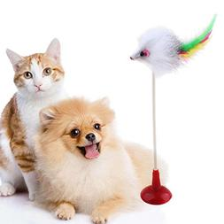 Cat Wand Cat Toy Wand - 1Pc Funny Pet Cat Toys Feather False