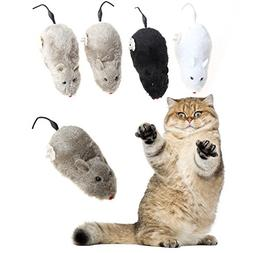 Jocestyle Cat Wind-up Mouse Toys Interactive Training Exerci