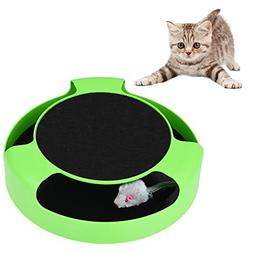 Petacc Catch the Mouse Motion Cat Toy Interactive Cat Motion