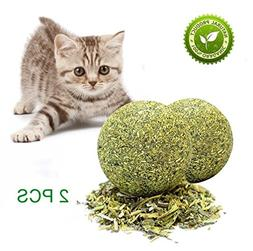 GaoX-H Catnip Ball Cat Toys for Molar Cleaning Teeth Cat Che