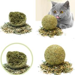 Catnip Cat Toys Natural Healthy Funny Mint Ball Treats Clean