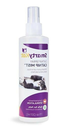 SmartyKat Catnip Mist Spray for Cat Toys Litter Boxes and Be