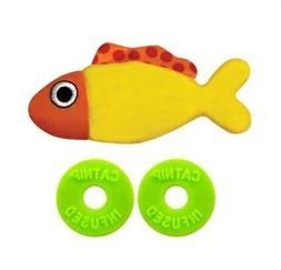 Petstages Catnip Refillable Pocket Fish