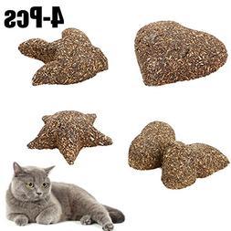Legendog Catnip Toy, Cat Chew Toy Interactive Mouse Star Hea