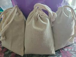 Catnip Toys 3 Large Cat Nip Filled Muslin Pouches/bags.. Bes