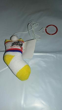 Catnip Toys Bungee Sock w/ Catnip Treated With Organic Catni