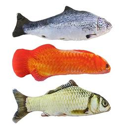 Yexpress 3 Pack Catnip Toys for Cats Fish Catnip Toys Cat To