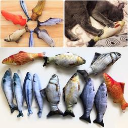 Catnip Toy For Cat Simulation Fish Stuffed Mint Plush Pet Ki