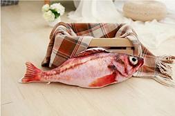 Catnip Toys Set Simulation Fish Shape DollFor Cat