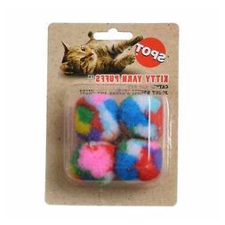 Spot catnip yarn four balls