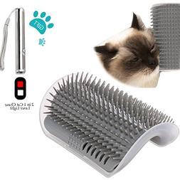 Ocathnon Cats Self Grooming Tool Corner Cats Brush With Catn
