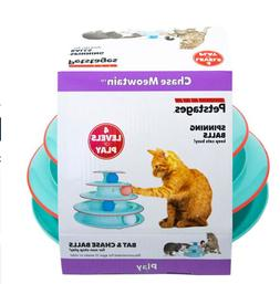 Petstages Chase Meowtain Track Cat Toy FASTSHIP