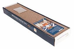 Clean kitty CK100 Premium Corrugated Cat Floor Scratcher wit