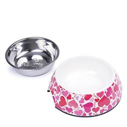 SUPER DESIGN Classic Removable Stainless Steel Bowl in High