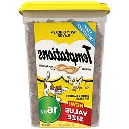 Classic Treat Cat Tasty Chicken Flavor 16 Oz Food Cook Pet C