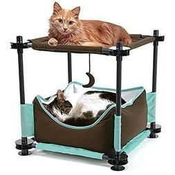 Kitty City Claw Mega Kit Cat Furniture, Cat Condo Collection