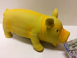 "Coastal Pet Products Rascals Latex Grunting Pig Dog Toy 7.5"""