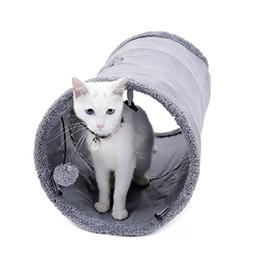 Speedy Pet Collapsible Cat Tunnel, Cat Toys Play Tunnel Dura