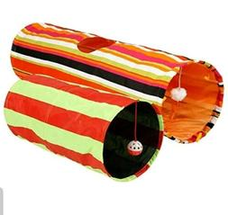Pet Magasin Collapsible Cat Tunnel Toys  - Pet Tunnels and T