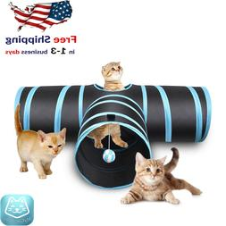 Collapsible Pet Toy Tunnel Ball Cat, Puppy, Kitty, Creaker 3
