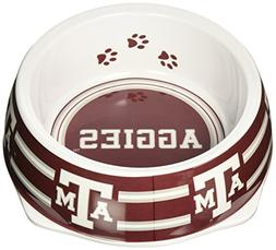 Sporty K9 Collegiate Texas A&M Aggies Pet Bowl, Large