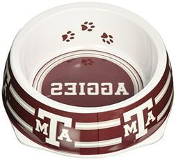 Sporty K9 Collegiate Texas A&M Aggies Pet Bowl, Large