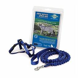 Come with Me Kitty Harness and Leash - Small - Royal Blue