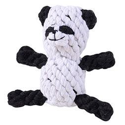 Legendog Cotton Dog Toy, Rope Dog Toy Funny Bear Rabbit Pand