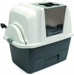 Covered Automatic Sifting Multi Cat Litter Box Scoop System