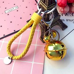 Creative Christmas Bells Diy Accessories Car Key Chain Handb