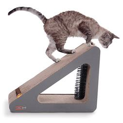 K&H Pet Products Creative Kitty Scratch, Ramp and Groom - Su