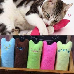 Creative Pillow Scratch Crazy Cat Chew Catnip Toy Teeth Toys