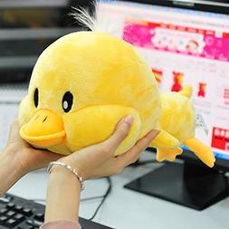 Creative Yellow Duck Doll Plush Animal Stuffed Toy Trumpet M