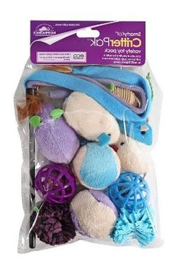 SmartyKat Critter Pack Variety Cat Toy 12 Pack