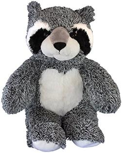 Cuddly Soft 16 inch Stuffed Bandit the Raccoon - We stuff 'e