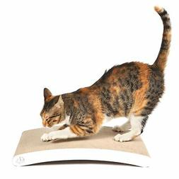 4CLAWS Curve Scratching Pad  - BASICS Collection Cat Scratch